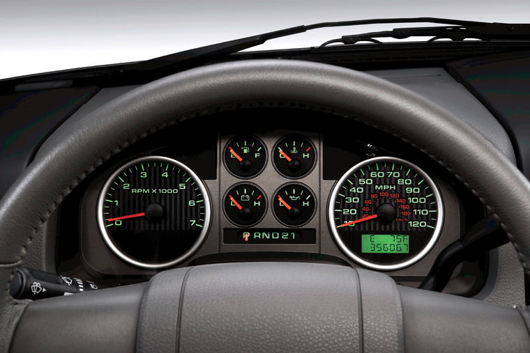2008 Ford F150 Gauges - Picture / Pic / Image