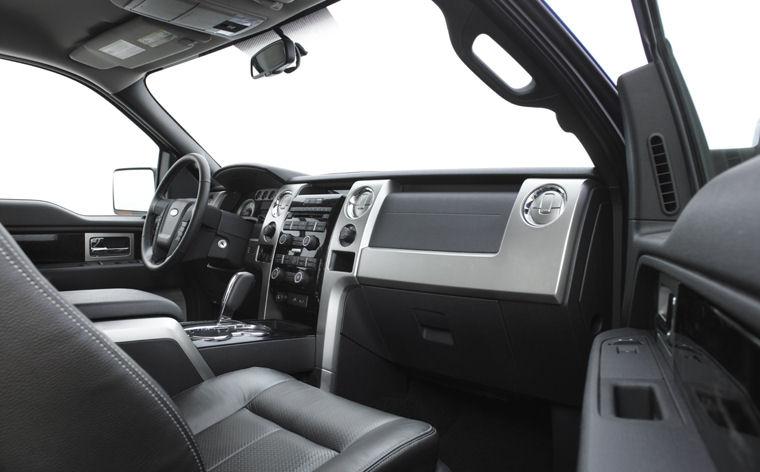 2010 Ford F150 Super Cab FX4 Interior Picture