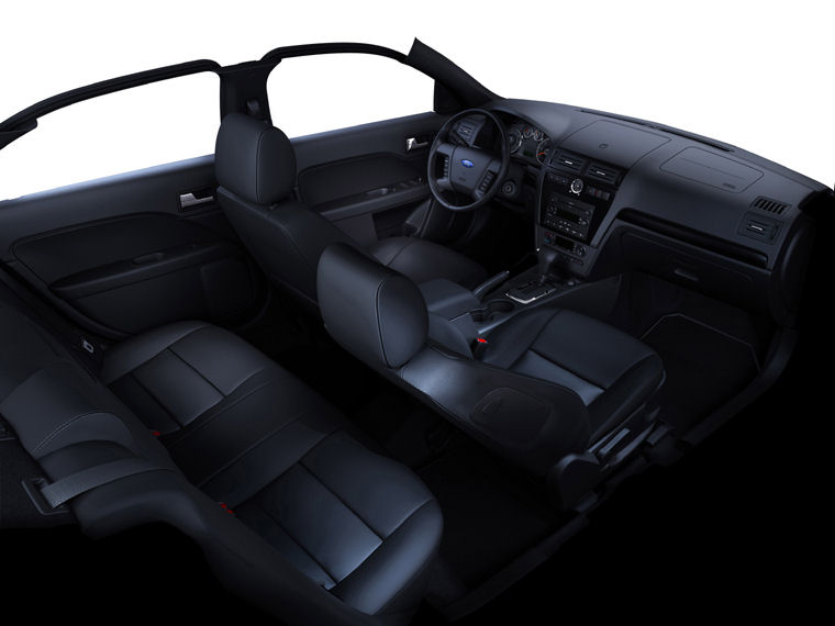2007 Ford Fusion Interior Picture Pic Image