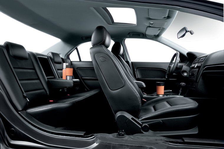Charming 2007 Ford Fusion Interior Picture