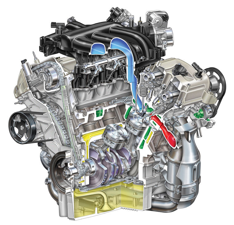 2007 Ford Fusion 3.0l 6-cylinder Engine - Picture / Pic ...