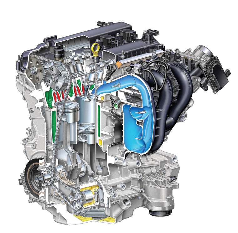 2008 Ford Fusion 2 3l 4-cylinder Duratec Engine