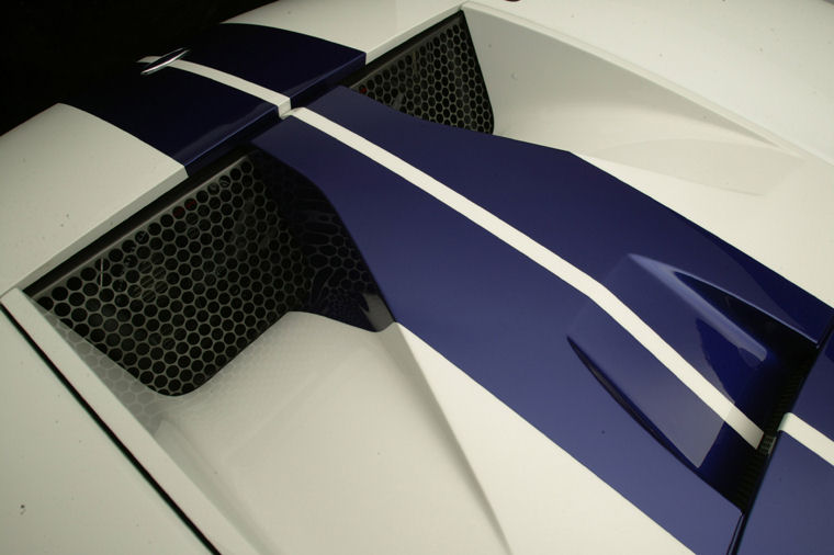Ford Gt Hood Vents Picture