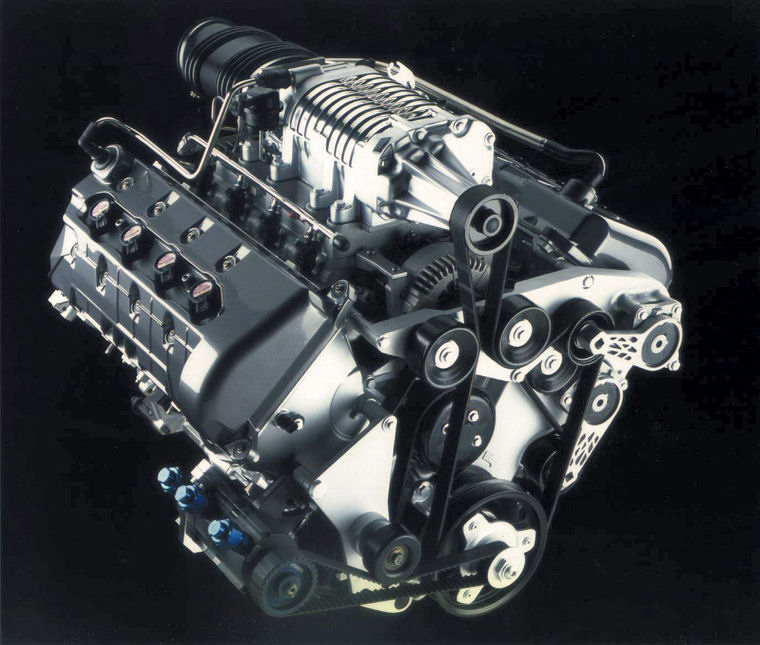 Ford V8 Supercharged Engine – name