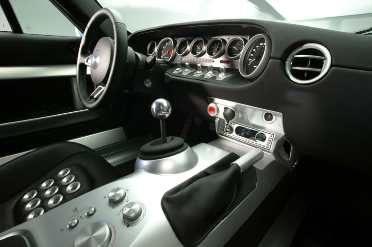Ford Gt Interior Picture