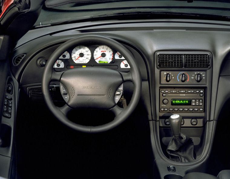 2003 Ford Mustang Svt Cobra Cockpit Picture Pic Image