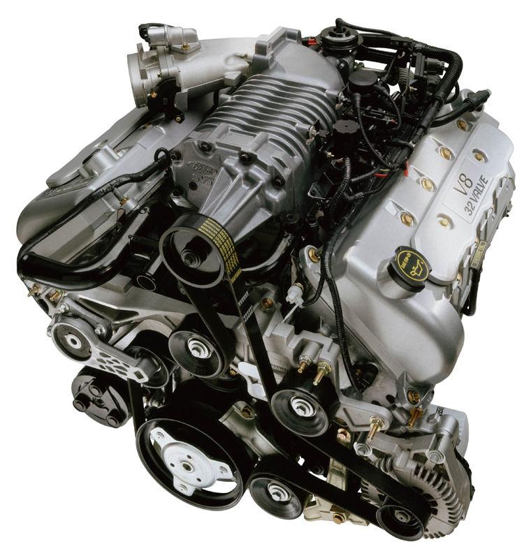 2003 Ford Mustang Svt Cobra 4 6l V8 Supercharged Engine