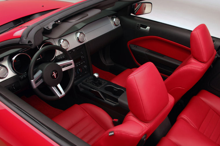 2006 Ford Mustang Gt Convertible Interior Picture