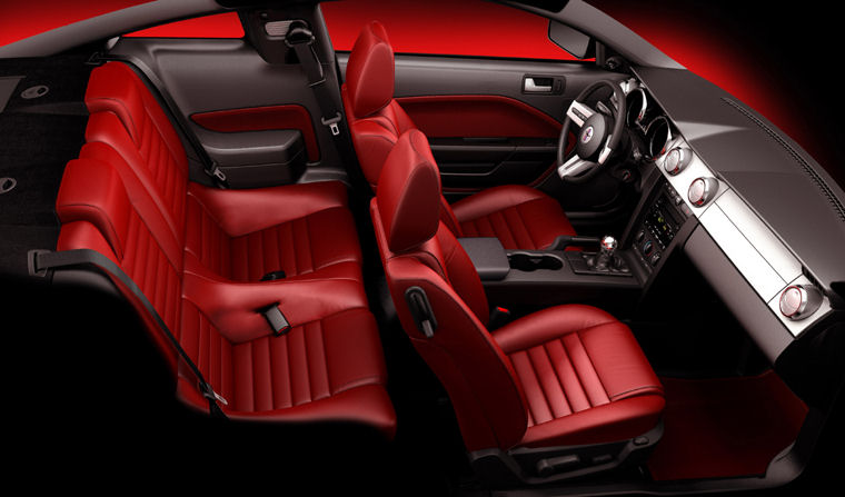 2007 Ford Mustang Gt Interior Picture Pic Image