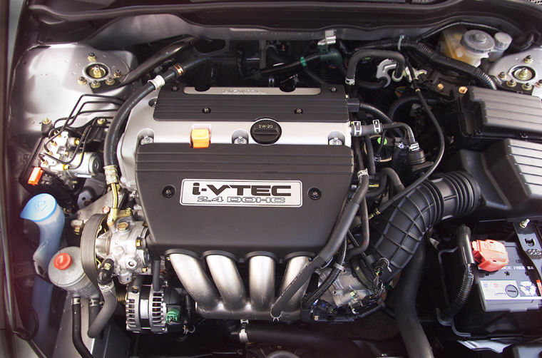 2003 Honda Accord 2 4 4 Cylinder Engine Picture Pic