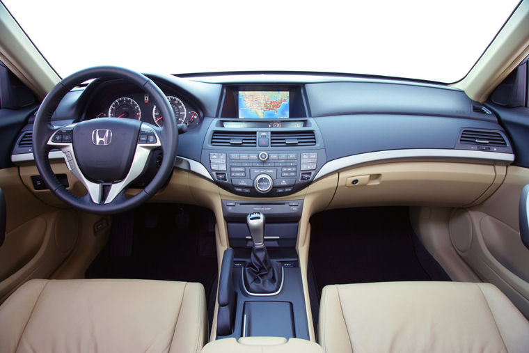 Captivating 2008 Honda Accord Coupe EX L V6 Cockpit Picture