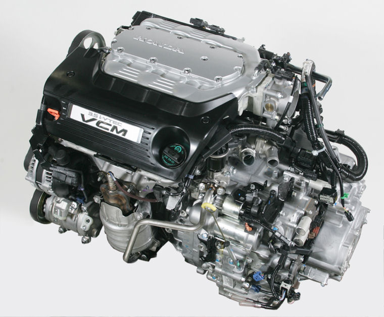 2009 Honda Accord Ex L V6 3 0l V6 Engine Picture Pic