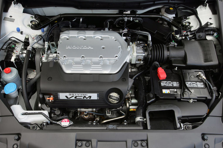 2009 Honda Accord Coupe Ex L V6 3 0l V6 Engine Picture