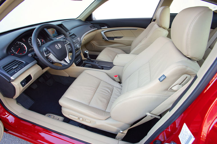 Lovely 2009 Honda Accord Coupe EX L V6 Front Seats Picture