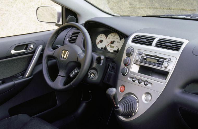 Charming 2003 Honda Civic Si Hatchback Interior Picture