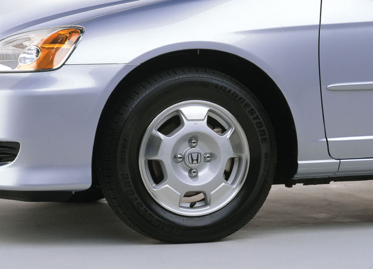 2003 Honda Civic Hybrid Rim Picture