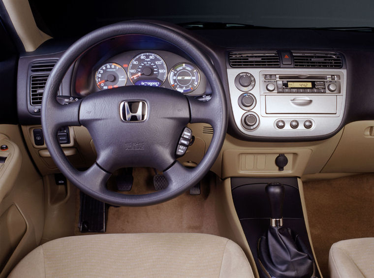 2003 Honda Civic Hybrid Cockpit Picture