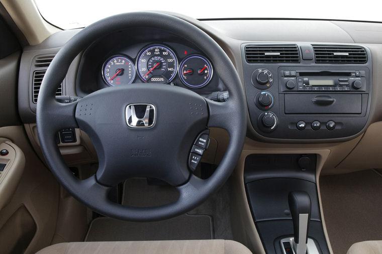 2004 Honda Civic Coupe Cockpit Picture Pic Image