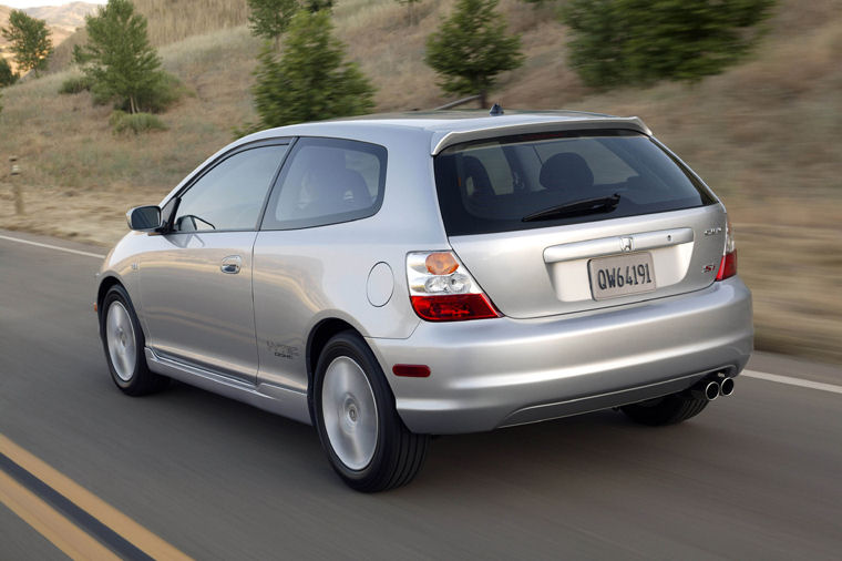 2004 Honda Civic Si Hatchback Picture