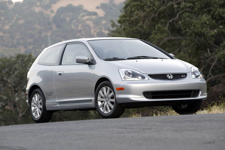 Charming 2005 Honda Civic Si Hatchback Picture