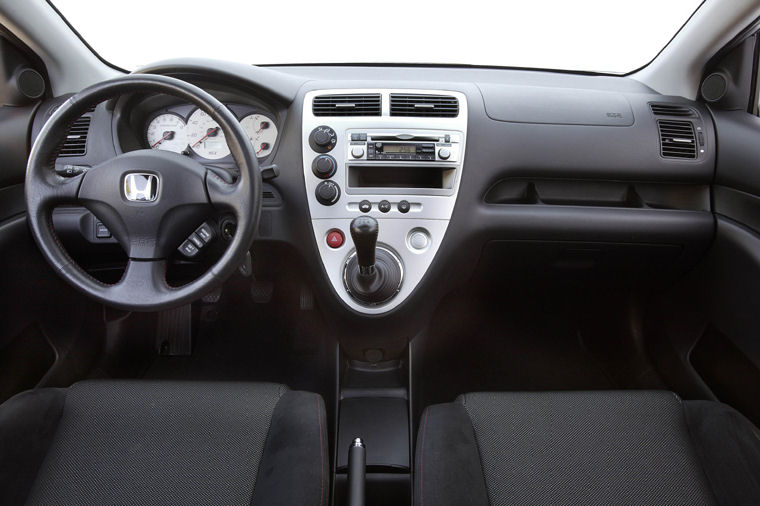 2005 Honda Civic Si Hatchback Cockpit Picture