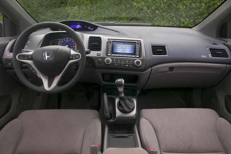 Perfect 2006 Honda Civic Coupe Cockpit Picture
