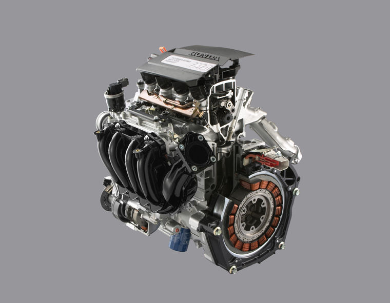 2006 Honda Civic Hybrid 1 3l 4 Cylinder Engine Picture