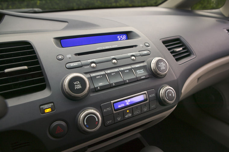 2006 Honda Civic Hybrid Dashboard Picture Pic Image