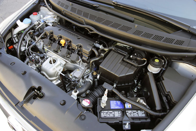 2007 Honda Civic Gx 1 8l 4 Cylinder Natural Gas Engine Picture