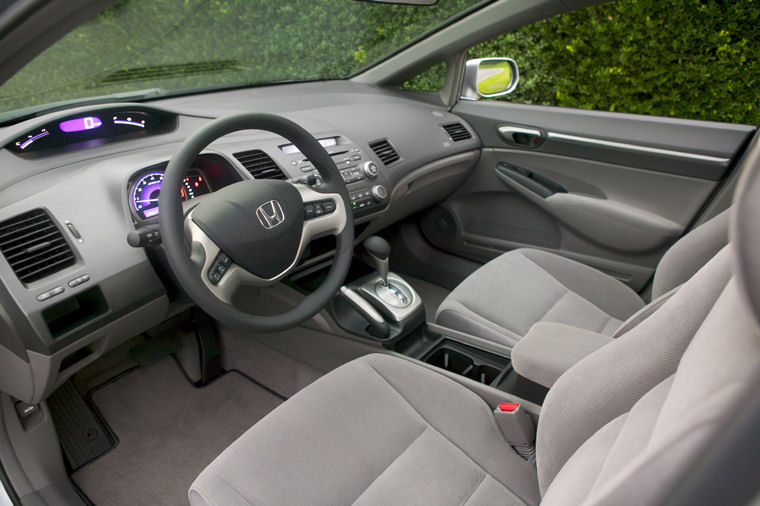 Image Gallery 2008 Civic Interior
