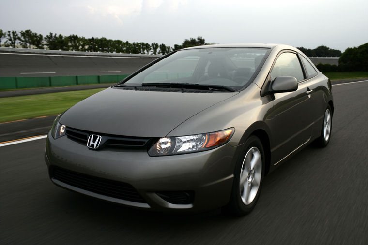 Charming 2008 Honda Civic Coupe Picture