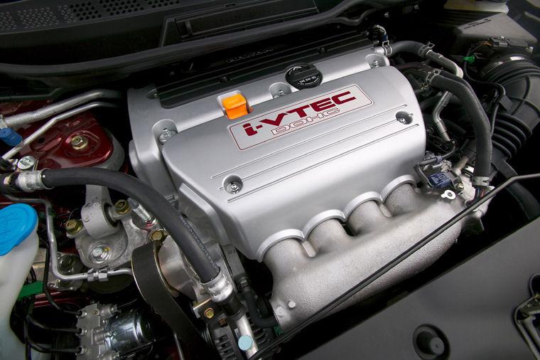 2008 honda civic si coupe 4 cylinder i vtec engine picture pic image. Black Bedroom Furniture Sets. Home Design Ideas