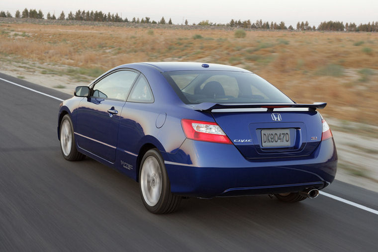 2008 Honda Civic Si Coupe Picture