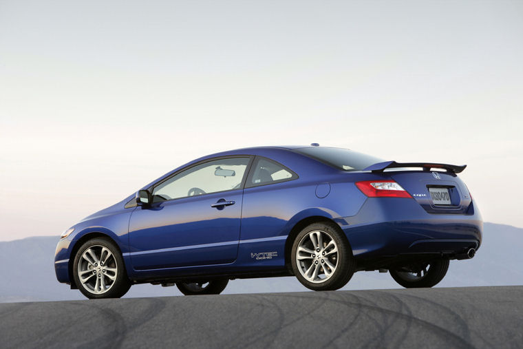Charming 2008 Honda Civic Si Coupe Picture