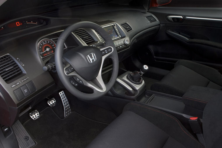2009 Honda Civic Si Sedan Interior Picture Pic Image