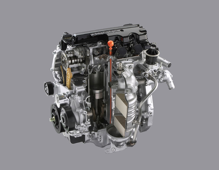 2009 Honda Civic LX-S Sedan 1.8L 4-cylinder Engine - Picture / Pic / Image