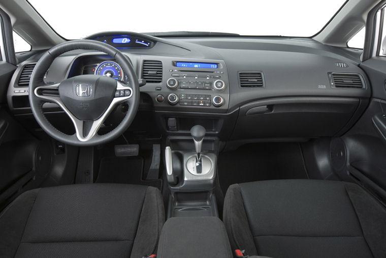 2010 Honda Civic LX S Sedan Cockpit Picture