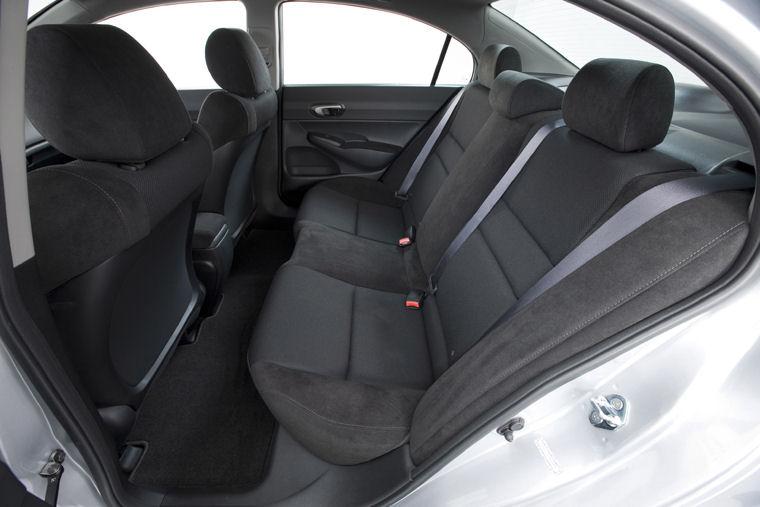 High Quality 2011 Honda Civic LX S Sedan Rear Seats Picture