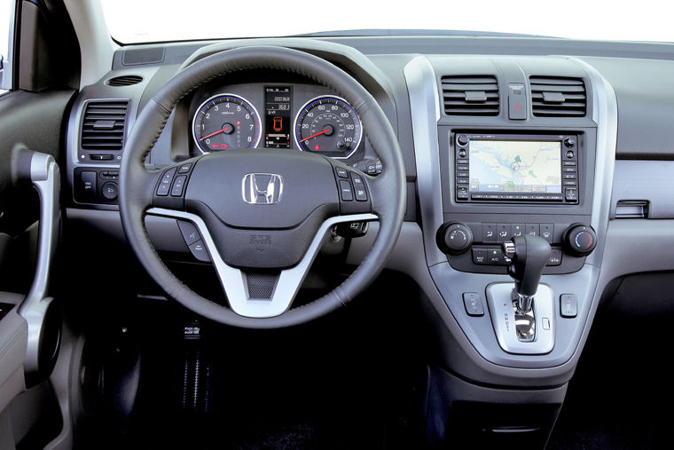 2007 Honda CR V EX L Cockpit Picture