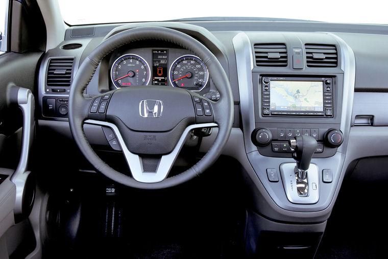 2008 Honda Cr V Ex L Cockpit Picture Pic Image
