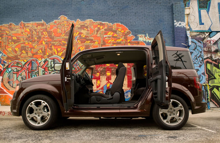 Awesome 2008 Honda Element SC Interior Picture