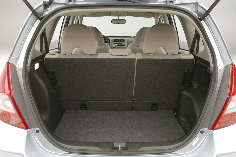 2008 Honda Fit Trunk - Picture / Pic / Image