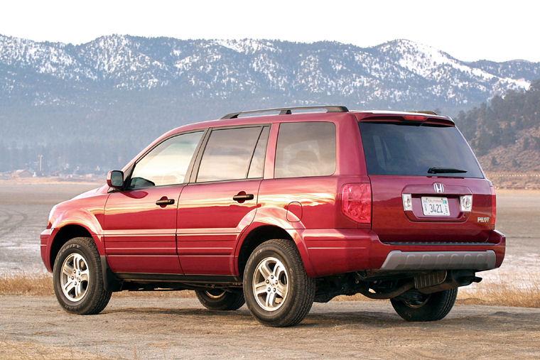2004 Honda Pilot   Pic    Image