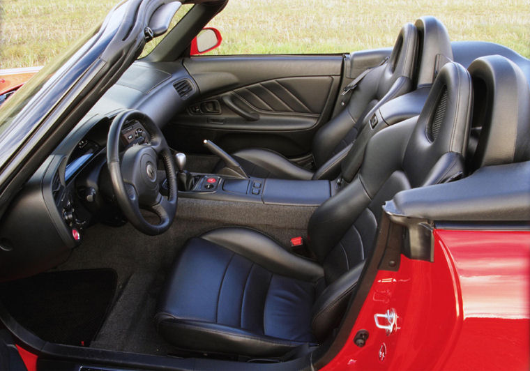 2002 Honda S2000 Interior - Picture / Pic / Image