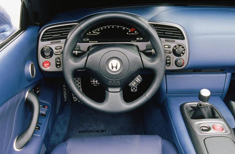 2002 honda s2000 cockpit picture pic image for Interieur smart 2000