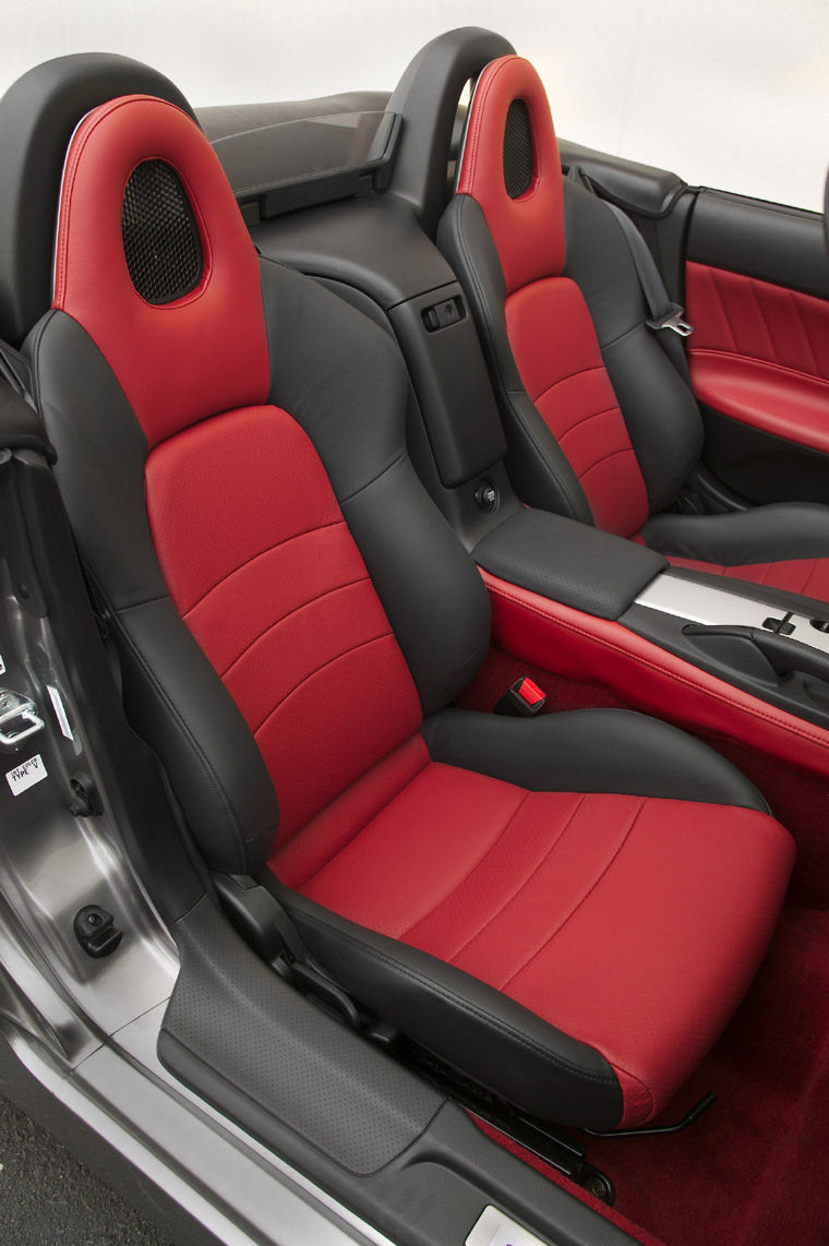Honda S2000 Red Seat Covers