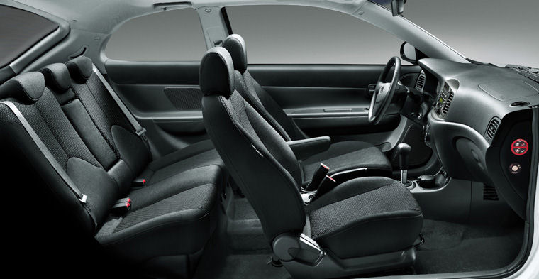 2009 Hyundai Accent Hatchback Interior Picture Pic Image
