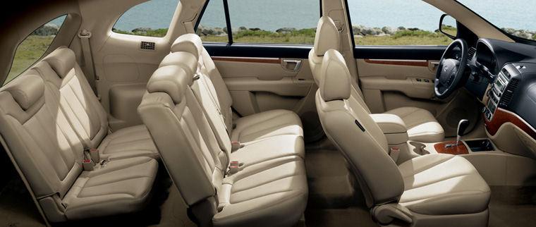 2008 Hyundai Santa Fe Interior Picture