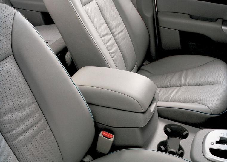 2008 Hyundai Santa Fe Interior Picture Pic Image