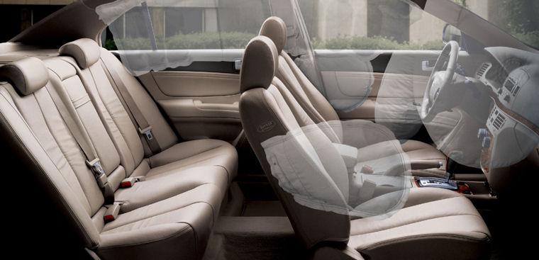 2006 hyundai sonata interior airbags picture pic image for Hyundai sonata 2006 interior